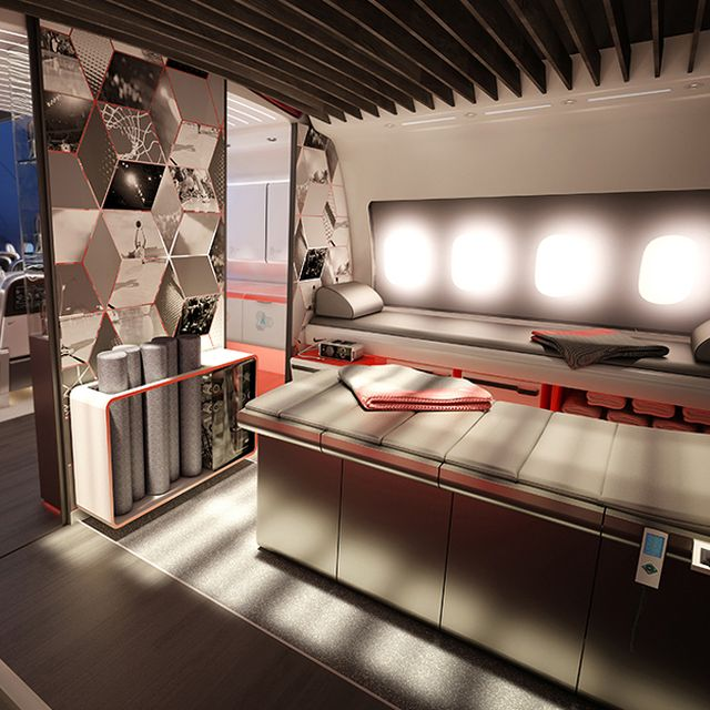 post: Nike's conceptual private jet for athletes by thejoysofliving