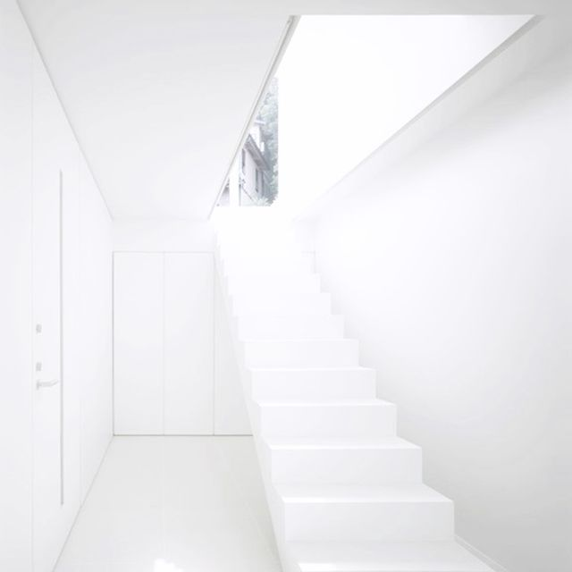 image: WHITE STAIRS by anurbanvillage