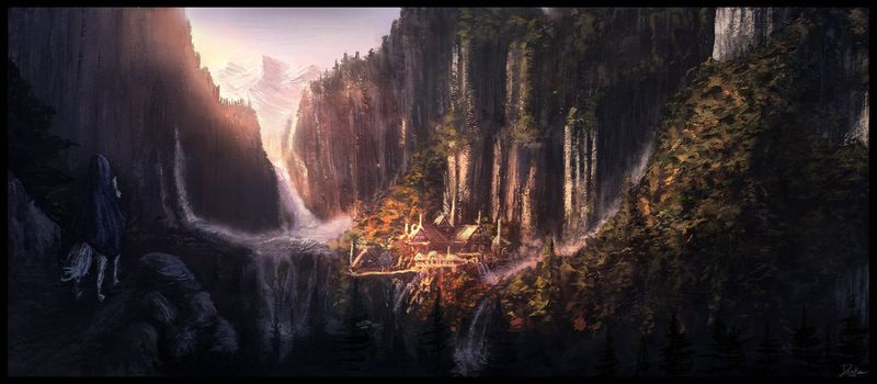 image: Rivendell Painting by raine