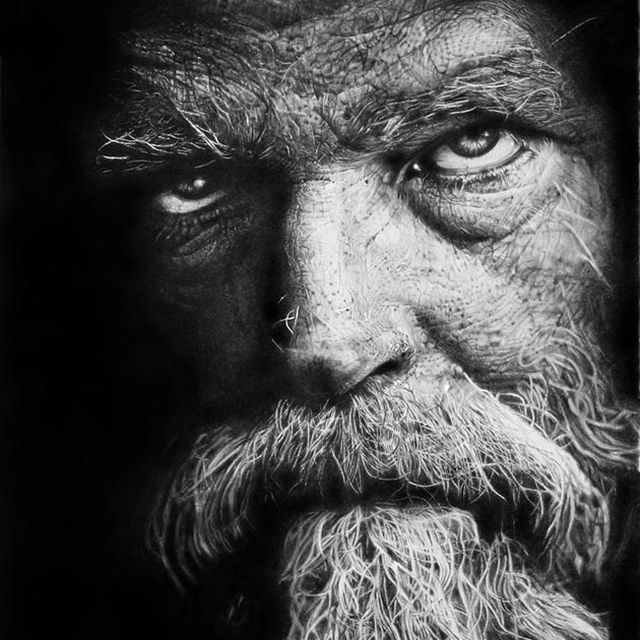 image: Pencil painting by Franco Clun by martinrush