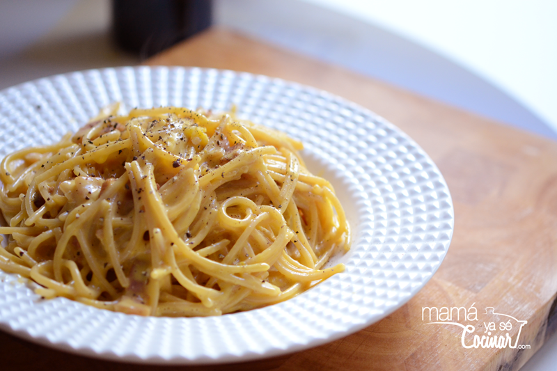 image: Spaghetti alla carbonara by ltabaresdenava