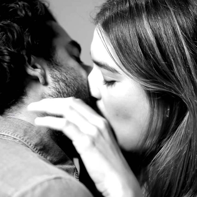 video: Kissing for the first time by mayma