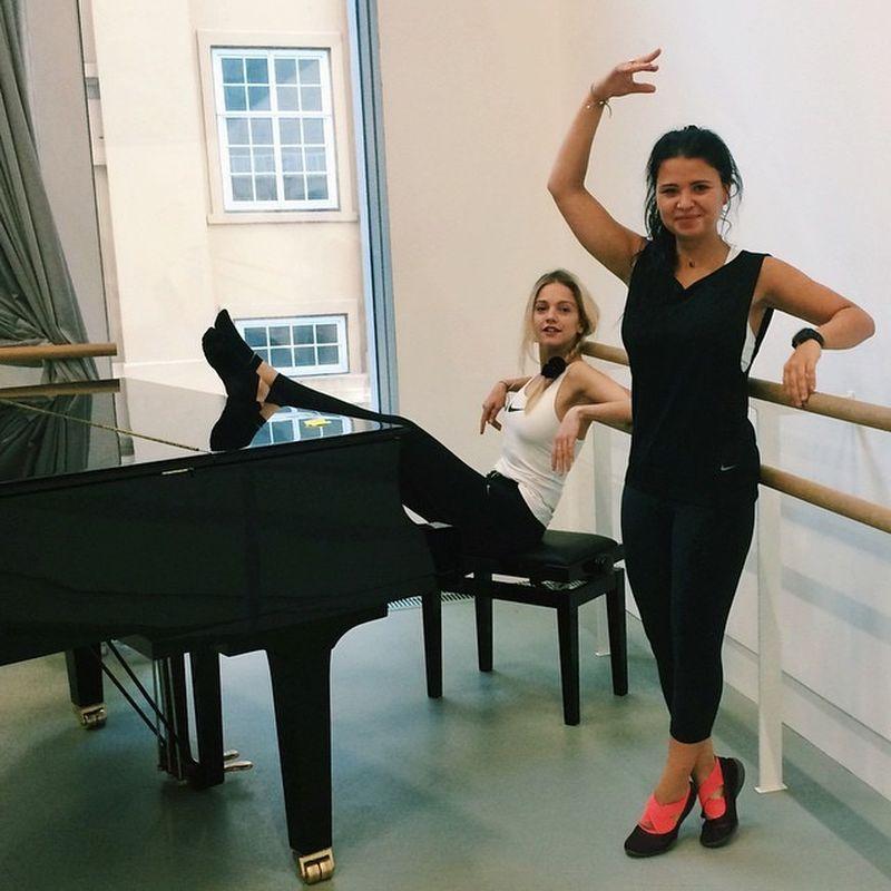 image: Ballerinas for the day #NTCweek by laurala_hayden