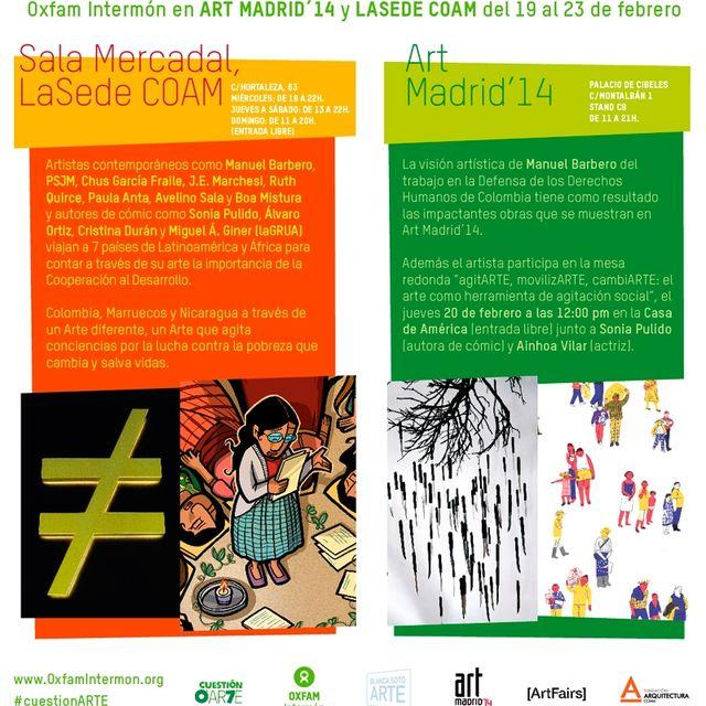post: Esta semana el plan es: ¡Arte contra la pobreza! by IntermonOxfam