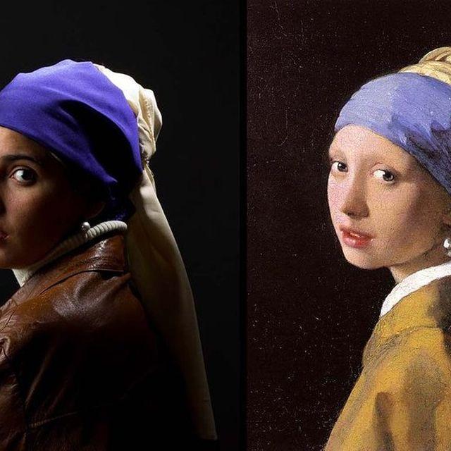 image: La Otra Mirada de Vermeer BY Le Frere | SamyRoad by taniaaristi