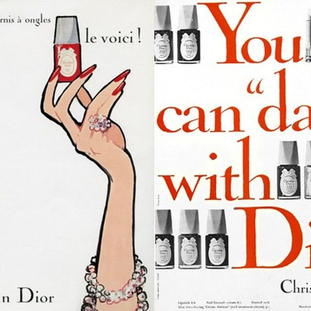 image: Launch of Dior nail polishes by leticiamadrid
