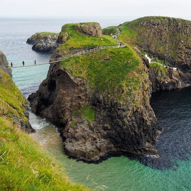 image: The island of Carrick-a-Rede  by dangerousbiz