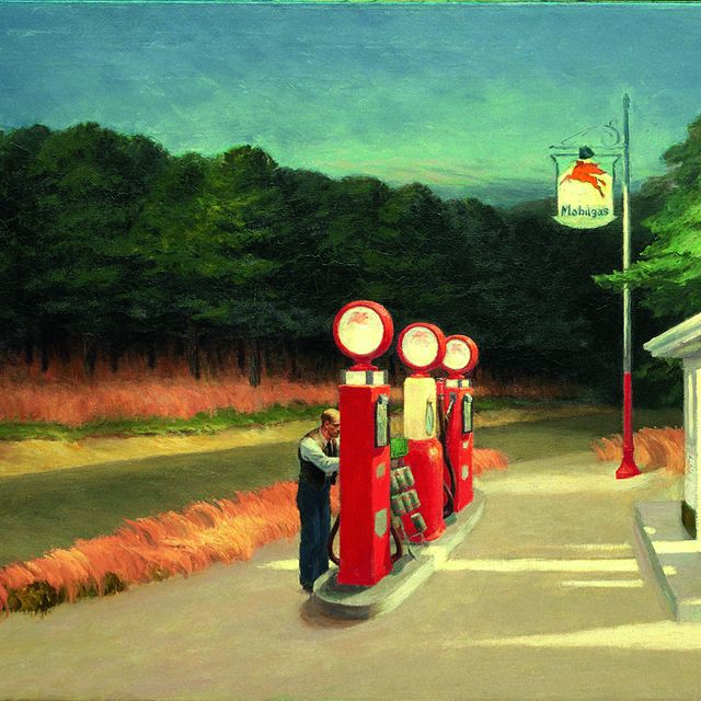 image: hopper-gas station by moc