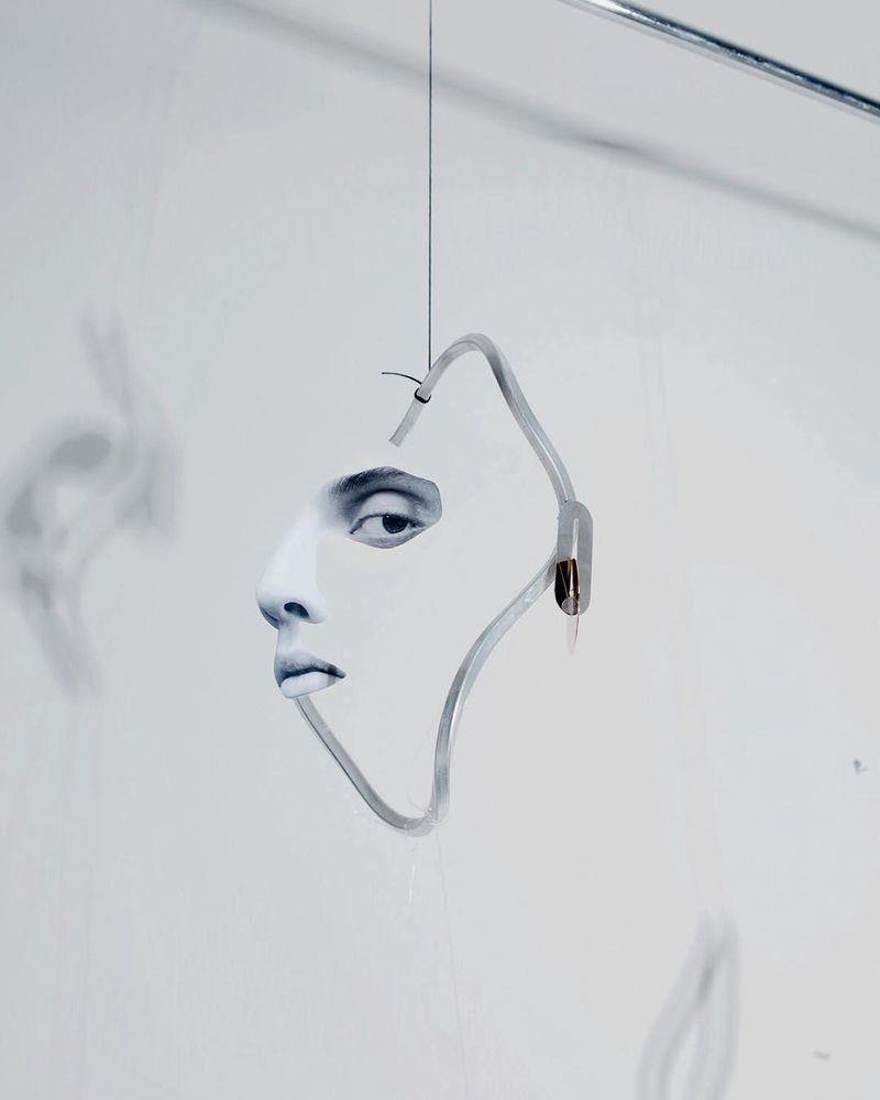 image: Half-Faces by danskmagazine