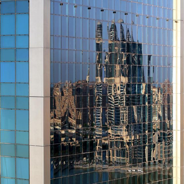 image: Reflected....#ThePearl seen from #MondrianDoha.#SeeMyCity #SeeMyDoha2016 #SeeMyDoha #Doha #Architecture by dirkbakker