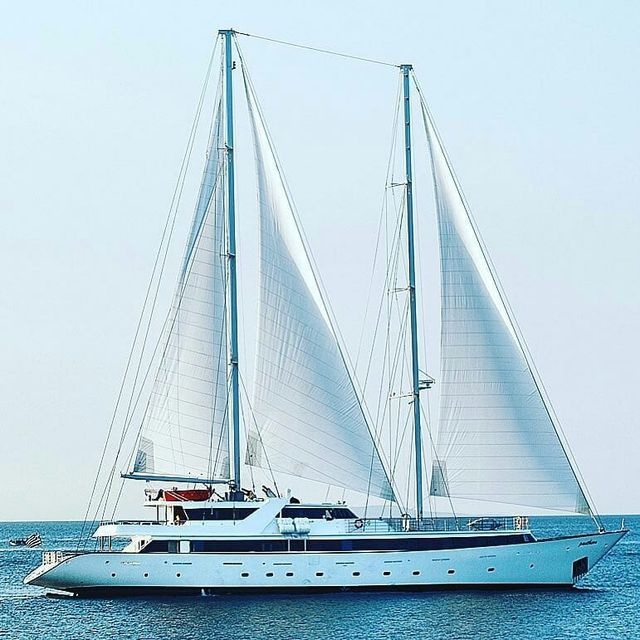 image: Life is like #sailin. You can use any wind to go in any direction. ⛵️⚓️?..? sent to us by @groupistvoyages by sailing_boats