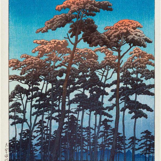 image: HASUI KAWASE by pucalpa
