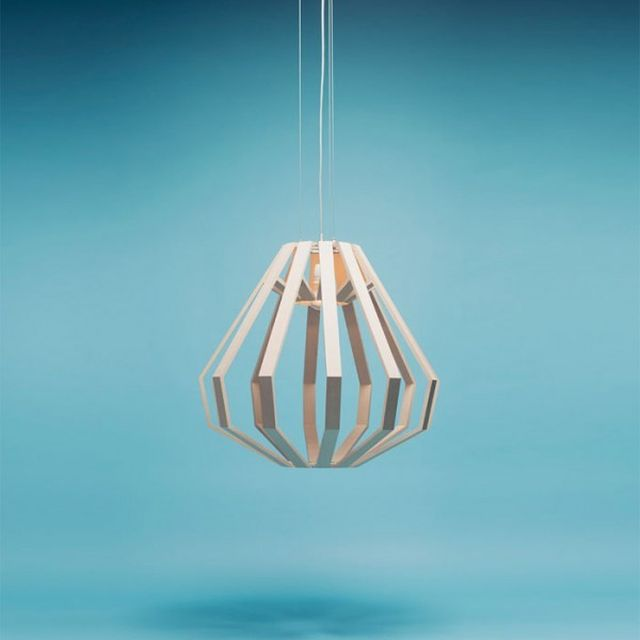 image: Apollo 8 Command Module – Pendant from Woodlabo by tenderpudding