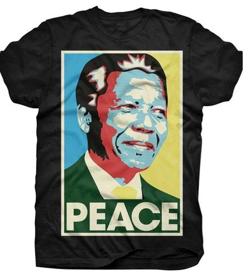 image: Nelson Mandela T-Shirt by sweet-olivia