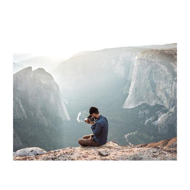 image: Nate in Yosemite, Fall... by gregorywoodman