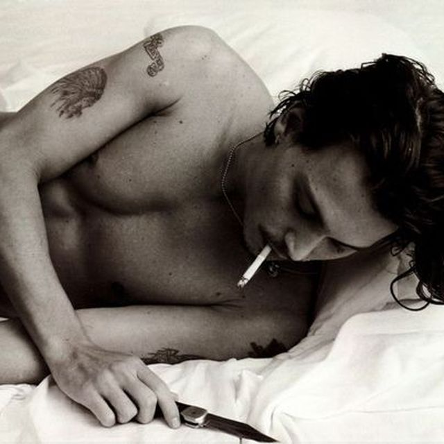 image: just johnny <3. by juli