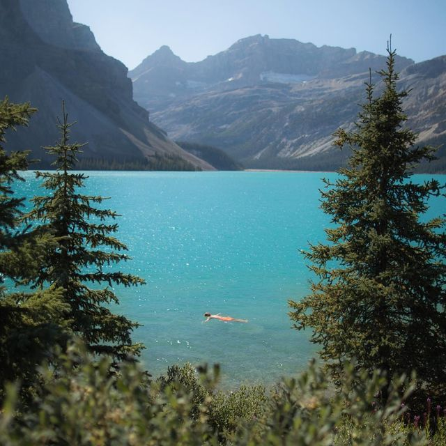 image: A Swim in the Lake by adventuremandan