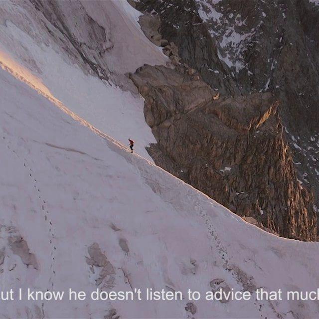 video: A Fine Line - Kilian Jornet by guillaume