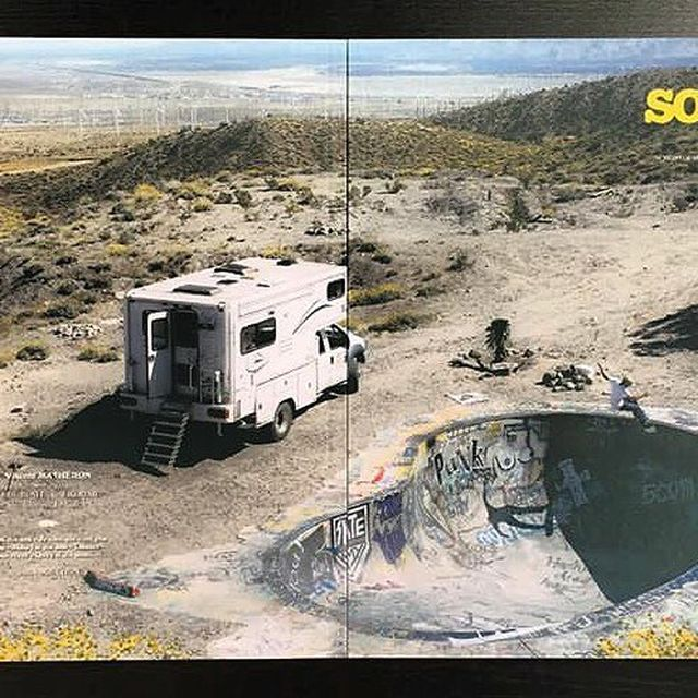 image: Latest @somaskate issue! Thanks for the cover @fredavecdeuxd 📸 @legallout 🔥🔥 by vincent_matheron