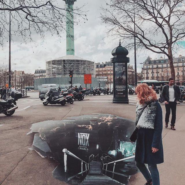 image: Venez suivre la suite de l'enquête de #NathalieBaye et #Maïwen dans #Nox, la série de @canalplus qui vous emporte dans les bas-fonds de Paris ! #CréationOriginale #ad by seb_gordon