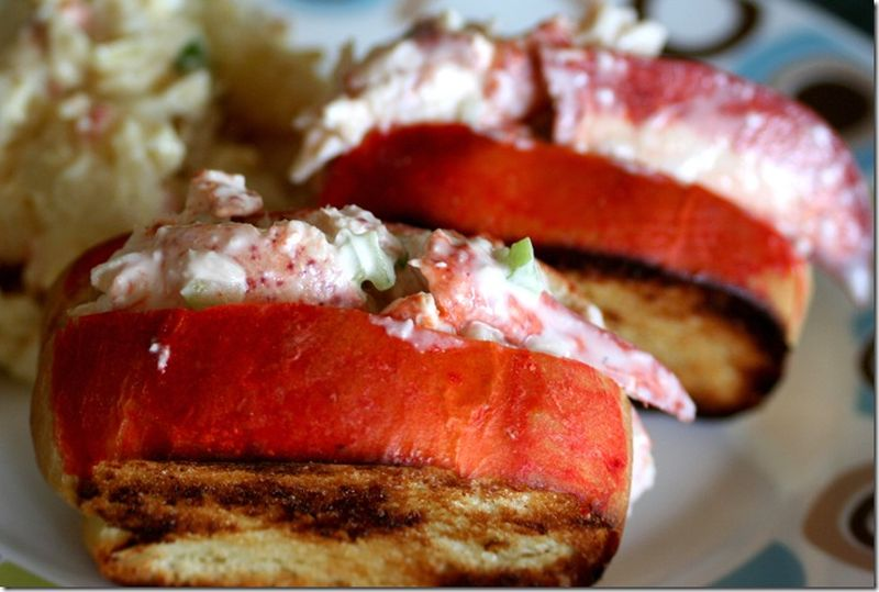 image: N.E. lobster roll by tatiana