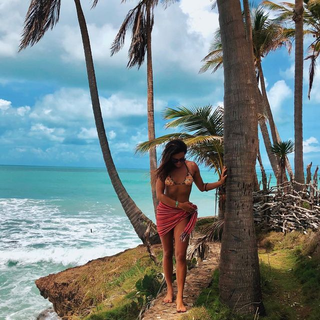 image: We are living on this planet as if we had another one to go... Take care of Mother Nature 🙏🏼 is the most precious thing 💚🍃Bikini from @yemojabrazil 👙#taiba #mothernature #brazil by ritaarnaus