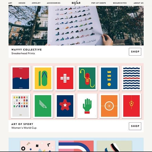 image: We're very happy to be on the @thebezar website with ou by guudstudio