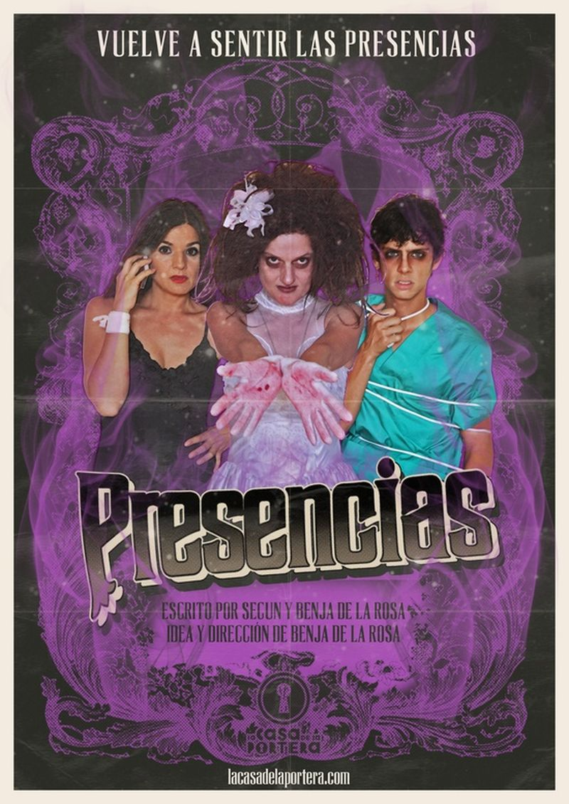 """image: My posters / """"Presencias"""", de @Benja de la Rosa by octavioterol"""