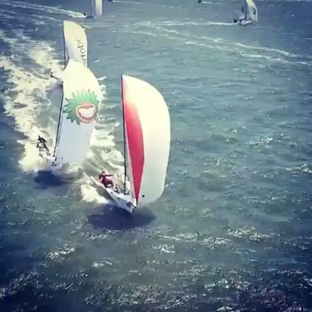 image: Overtake!!??⛵..Video by @sail_republic_official by sailing_boats