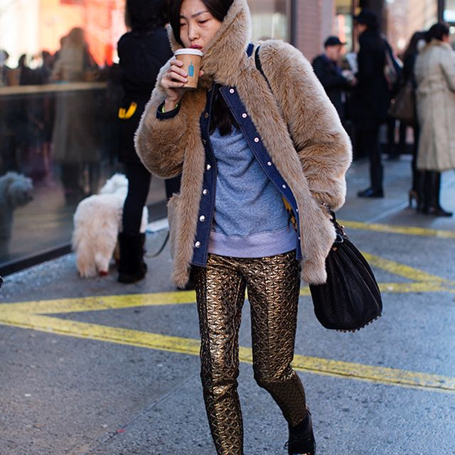 image: On the Street….. After Louise Goldin, New York by anjelica