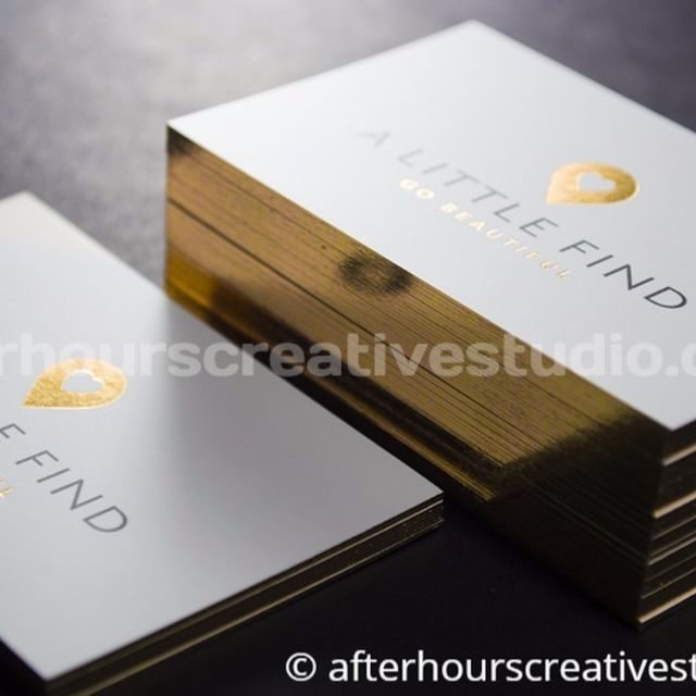 image: High End Luxury Business Cards by hourscreative
