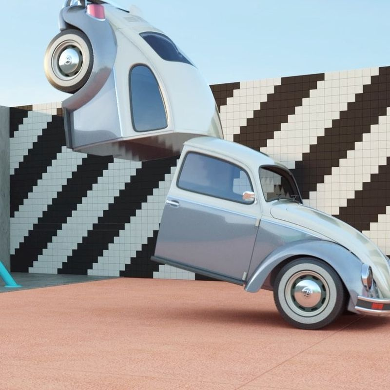 image: Project Cut & Shut - I posted all of the work on my website today. #vwbug #autoaerobics by chrislabrooy