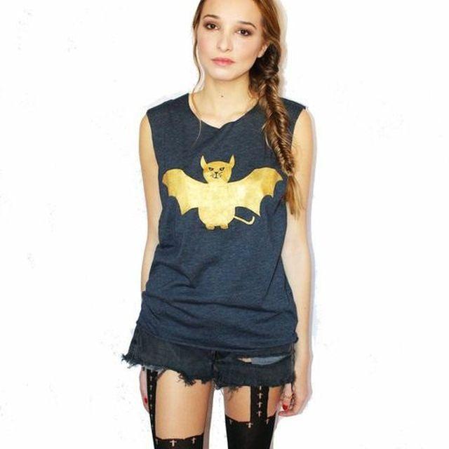 image: BatCat Tshirt by fashioniskillingme