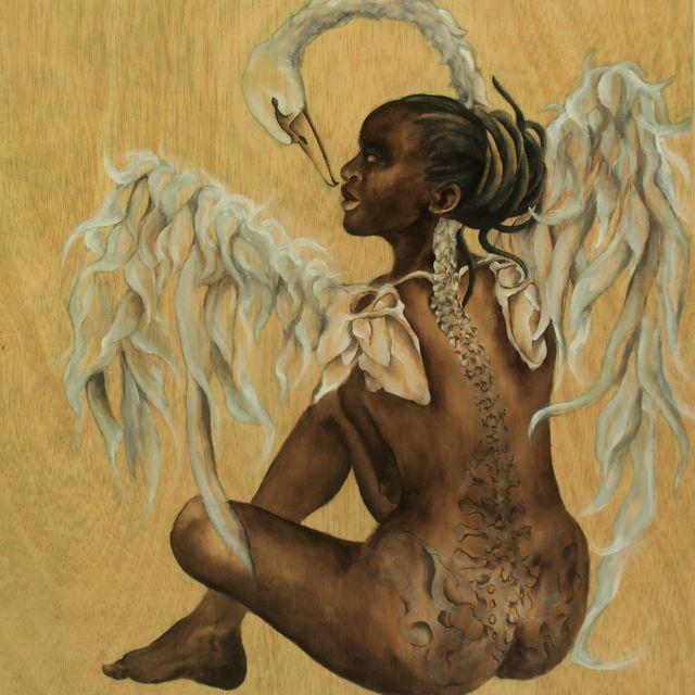 image: Medullae Laus: Leda&Swan by anaminum