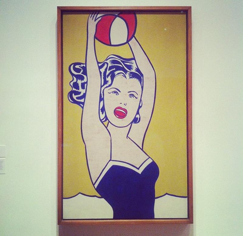 image: Roy Lichtenstein by cecidelaserna