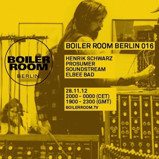 music: Soundstream 60 min Boiler Room Berlin DJ Set by lurbe