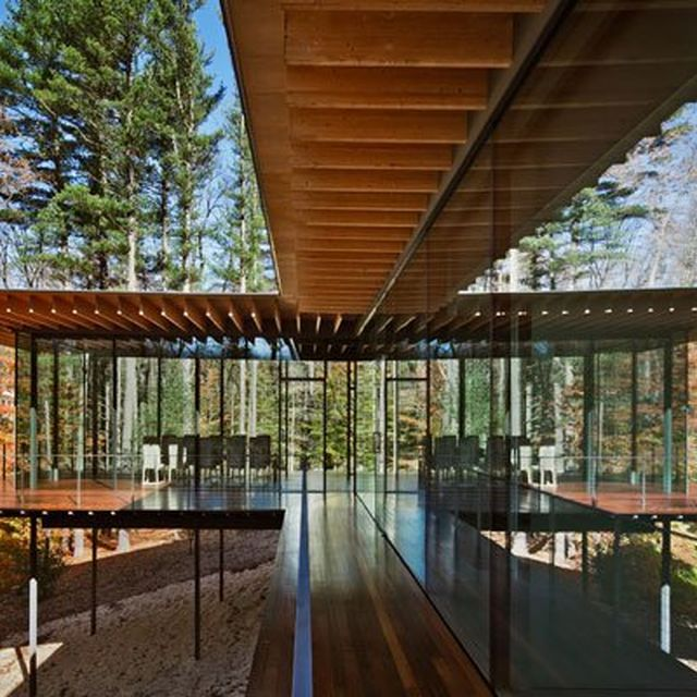 image: Pictures - Glass/Wood House - Photo: Scott Frances -... by HermenegildoLupo