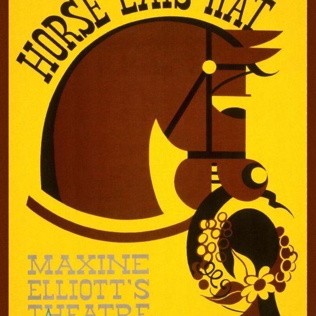 image: Horse Eats Hat by gabrielttoro