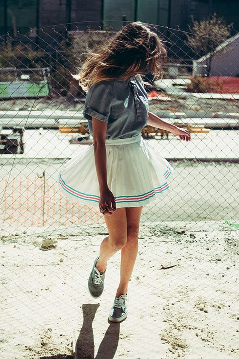 image: skirt & vans by heymercedes