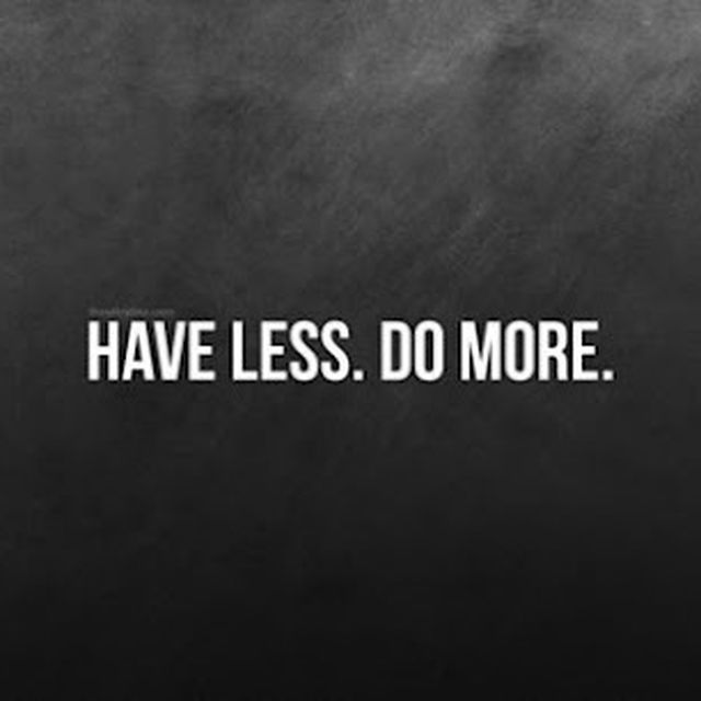 image: HaveLessDoMore. by is