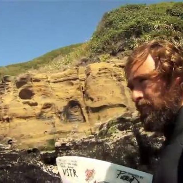 video: Surfing in the end of the world, Patagonia by bolt