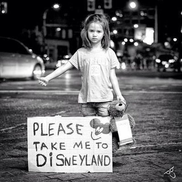 image: Take me to DisneyLand by james