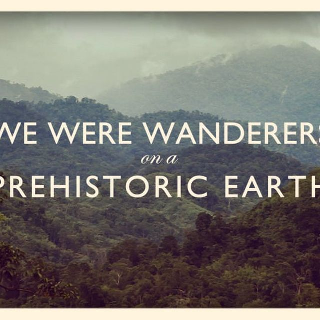 video: We Were Wanderers On A Prehistoric Earth by saezlucas