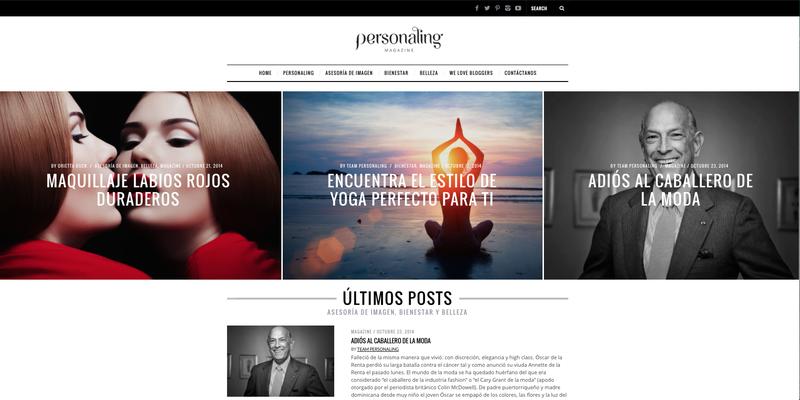 image: Personaling Magazine: Nuevo diseño by aidaps