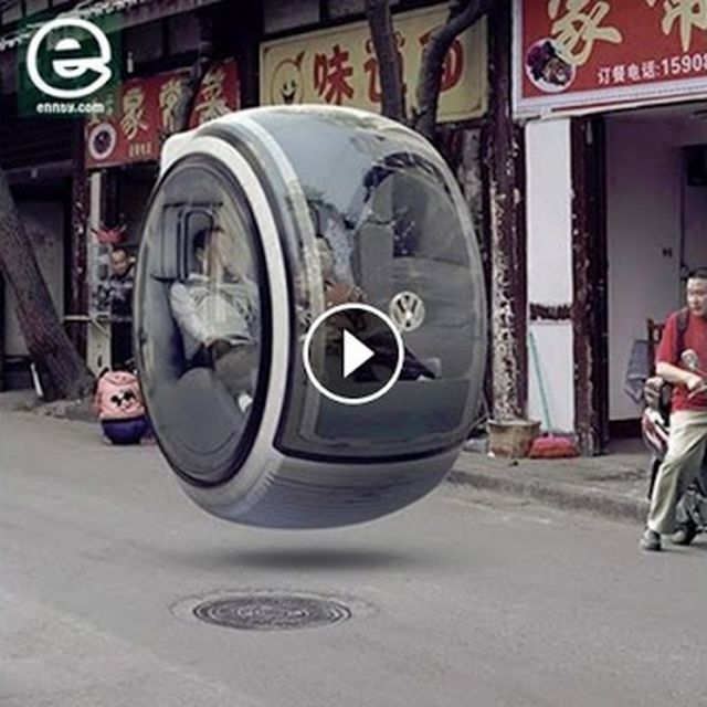 video: This Volkswagen Hover Car by a_techprobs