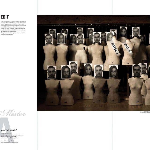 image: N02. FAKEBOOK --- Miss&MisterAA' FANZINE by aaenterprise