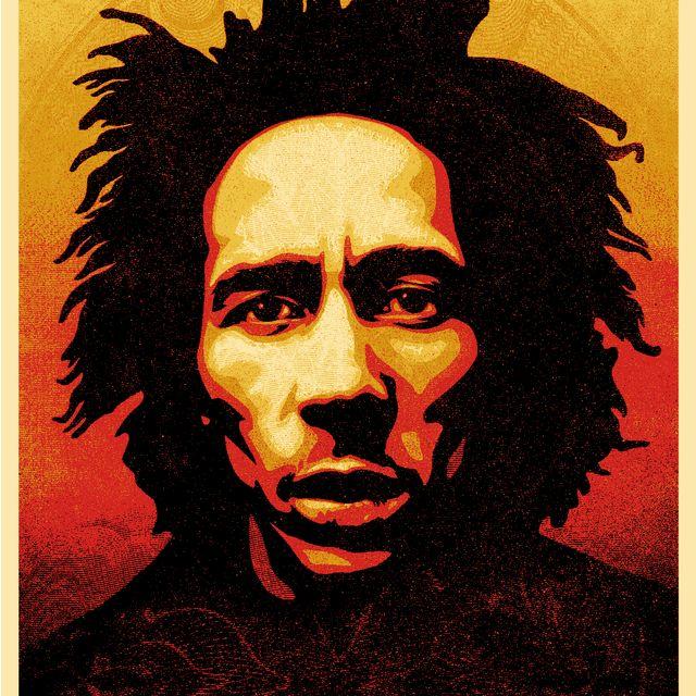 image: Bob Marley by jason