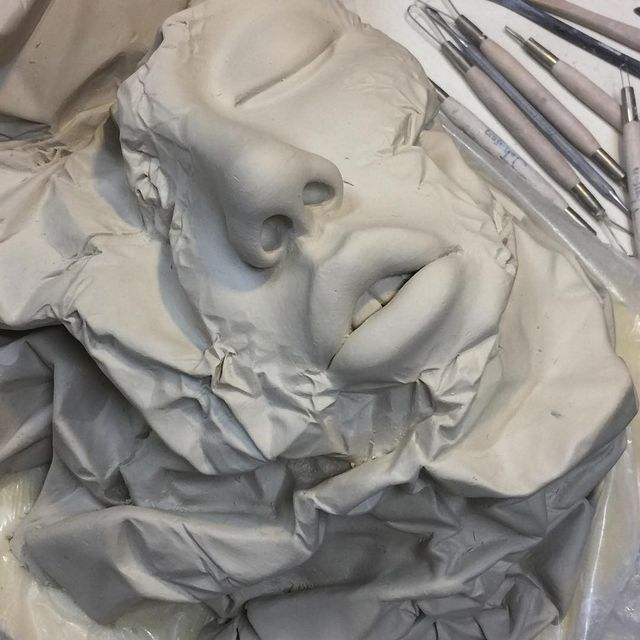 image: Lucid Dream II - Bad...Porcelain work in...A week is not enough for crafting all these details. But I enjoy each and every moment.#art #ceramics #sculpture #johnsontsang by johnsontsang