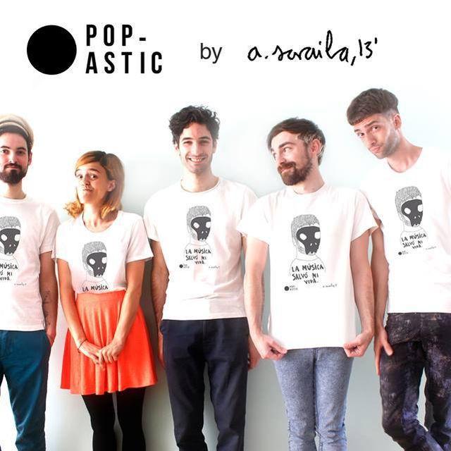 image: Aitor saraiba t-shirts by popastic