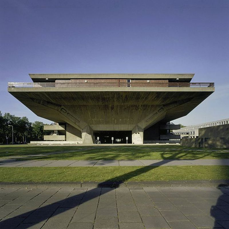 image: Brutalist buildings by waryamaranth